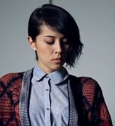 Kina Grannis in Sweater Weather... Love her hair.