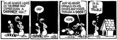 Mother Goose and Grimm By Mike Peters / 1. cute: preparing Santa's landing -1