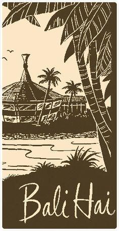 Bali Hai San Diego - Hopefully part of Tiki Oasis Trip Kitsch, Tiki Art, Tiki Tiki, Polynesian Designs, Hawaiian Tiki, Tiki Lounge, Vintage Tiki, Tiki Room, 16th Birthday