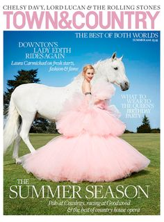 Downton's Lady Edith rides again | Town & Country Magazine UK