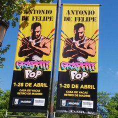 Graffiti Pop Cartel de la exposición