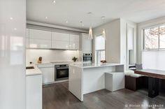 A Modern Small Kitchen Design In Boston Brownstone Apartment New Kitchen Designers Boston Design Decoration
