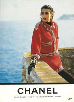 Yasmeen Ghauri for CHANEL