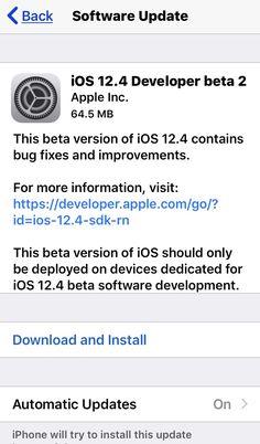 Today, Apple has released iOS Beta 2 Apple Beta, Apple Inc, Software Development, Ios