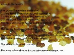 Aromatic Perfume Oil: