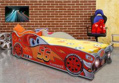 Lucky Racer Car Bed | Red