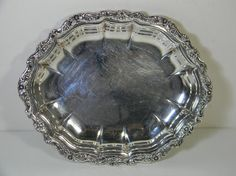 Vintage silver plate small tray International by FeliceSereno, $20.00