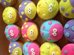 Ladybug cupcakes - Cake by Skyrahrock