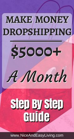 Do You Want To Make Money Dropshipping & What is Dropshipping? It's a money-saving shipping method that anyone can run from its own home. This is the ultimate Dropshipping step by step cheat sheet.  https://niceandeasyliving.com/make-money-dropshipping/ #dropshipping #shopify #salehoo #makemoneyonline