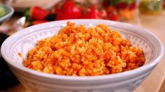 Enkel bulgursallad   SVT recept Couscous, Macaroni And Cheese, Grains, Salads, Rice, Ethnic Recipes, Food, Mac And Cheese, Essen