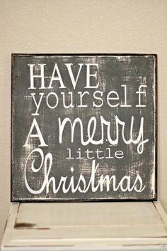Navidad signo de Navidad vacaciones tenga una por linenandlaceshop