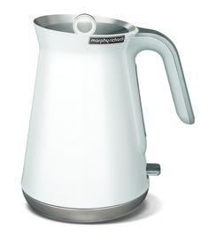 Enjoy legendary service when you buy the Morphy Richards 100003 Aspect Kettle from Appliances Online! White Kettle, Stainless Steel Kettle, Water Boiler, Cord Storage, Red Dot Design, Small Kitchen Appliances, Kitchen Gadgets, Kitchen Decor, Modern