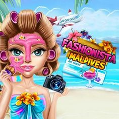 Fashionista Maldives - http://www.funtime247.com/dress-up/fashionista-maldives/ - Treat your skin with revitalizing extracts, plug your eyebrows and pamper your skin with high exclusive cremes before applying make up. Pick a beautiful dress and cute accessories to finish your styling.