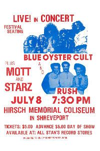 rush concert posters | Bill Haley & Comets at Hollywood Bowl Poster 1972 at Endless Posters