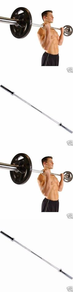 Barbells And Attachments 137864 Cap Barbell 2 Inch Olympic Workout Weight Bar Bench Fitness