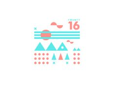 ∆ Get Outdoors ∆  Start of a new illustration series exploring the beautiful features this world has to offer. It's time to Get Outdoors!  You can keep track of my 2016 Dribbble collection here  St...