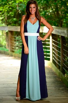 The Sandy Maxi, Navy  $46.00 The Mint Julep Boutique