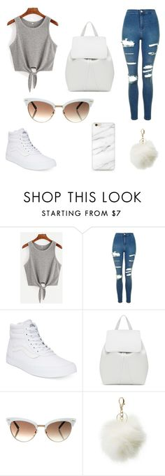 """Untitled #34"" by angelinaesqueda ❤ liked on Polyvore featuring beauty, Topshop, Vans, Mansur Gavriel, Gucci and Charlotte Russe"