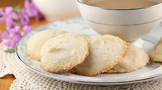 Shortbread Drop Cookies...Buttery deliciousness that can be flavored and decorated to your liking. #cookies #shortbread #dropcookies