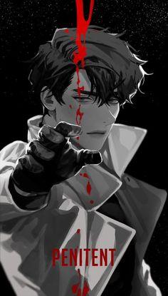 Dark Anime Guys, Hot Anime Boy, Cute Anime Guys, Anime Boy Zeichnung, Arte Ninja, Japon Illustration, Anime Lindo, Handsome Anime Guys, Ex Machina