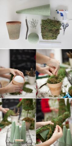christmas tree photography Christmas DIY Potluck by Salt Harbor Designs + Millie Holloman Photography Diy Christmas Tree, Christmas Projects, Holiday Crafts, Holiday Fun, Christmas Holidays, Christmas Decorations, Xmas Tree, Tree Centerpieces, Centerpiece Ideas