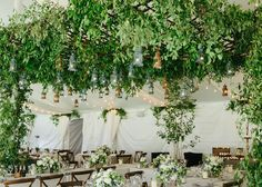 Hanging Greenery Installations for Your Wedding | Brides