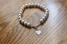Popular items for silver beads on Etsy