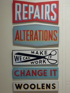 Signs by Caitlyn Galloway by bluehour23, via Flickr