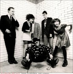 The Sugarcubes. Björk's first band