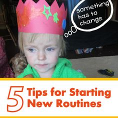 5 Truths and Tips About Starting New Routines