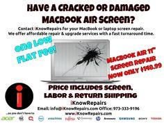 Macbook Pro Retina A  Cracked Screen Repair Replacement