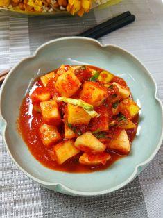 깍두기황금레시피, 아작아작 맛있는 깍두기 담드는법 : 네이버 블로그 K Food, Sweet Potato, Appetizers, Vegetables, Cooking, Recipes, Cuisine, Kitchen, Veggies