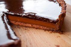 Caramel chocolate tart :) Tartlı Hayat