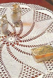 Free Crochet Turnstile Doily Pattern