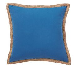 Synthetic Trim Indoor/Outdoor Pillow | Pottery Barn