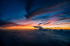 747 Pilot Captures Breathtaking Pictures of Storms and Skies | Bored Panda