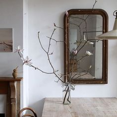 march 👐🏻 via Apartment Interior Design, Interior Decorating, Old Stone Houses, Farmhouse Renovation, Bleu Turquoise, Natural Home Decor, White Decor, Creative Home, Cozy House
