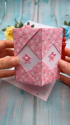Diy And Crafts DIY Origami Paper Pen Holder Origami crafts DIY Holder origami videos Paper Pen Paper Flowers Craft, Paper Crafts Origami, Paper Crafts For Kids, Flower Crafts, Diy Paper, Paper Crafting, Origami Flowers, Diys With Paper, Origami Paper Folding