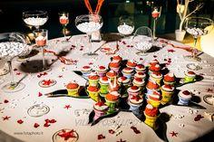 Sweet table colorato dal tema marino