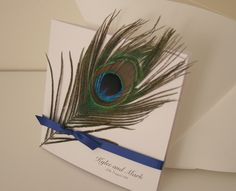 Peacock cards