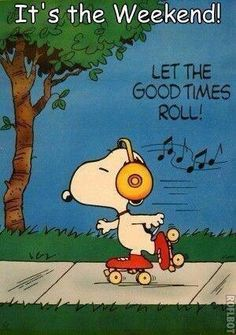 It's the Weekend! Hope you're all having a good one. Rain is in the air for me and my family today, but, that's OK. We're still letting the good times roll :)