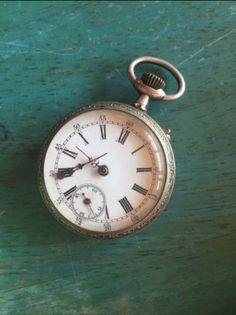 silber Uhr