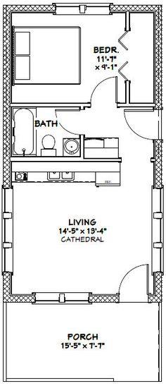 Farmhouse house interior floor plans 27 Ideas for 2019 Small House Floor Plans, Small Tiny House, Cabin Floor Plans, Tiny Tiny, The Plan, How To Plan, 2 Bedroom House Plans, Apartment Floor Plans, Portable House