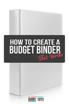 Get your finances in order, and simply. Find out how to create a budget binder that actually works!!