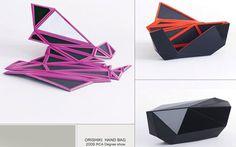 「折り紙+風呂敷」で近未来的なデザインに? 日本の伝統を生かした奇抜なバッグ|ウーマンエキサイト コラム