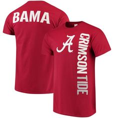 50096ee2ab1 Alabama Crimson Tide Crimson Fusion T-shirt #AlabamaCrimsonTide  Houndstooth, University Of Alabama,