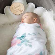 Rosy   Dewdrops Luxury Muslin Swaddle Blanket Set | Slept Through the Night Milestone Disc | Baby Milestones Cute Babies Photography, Muslin Swaddle Blanket, Pink Bedding, Pink Kids, Girl Decor, Kids Sleep, Baby Milestones, Baby Pictures, Baby Shower Gifts
