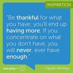 Oprah is a smart woman!