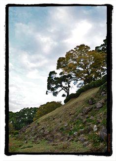石垣山一夜城 Ishigaki-yama (Mt.stone wall)  Castle Remains,Japan.