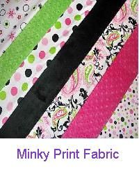 The Minky Boutique - Minky Fabric and Custom Handcrafted Minky Blankets!